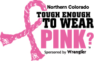 Northern Colorado Tough Enough To Wear Pink Logo
